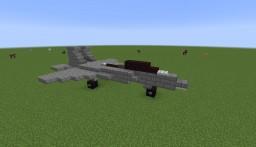 McDonnell Douglas F-15E Strike Eagle | 1:1 Scale Minecraft Map & Project
