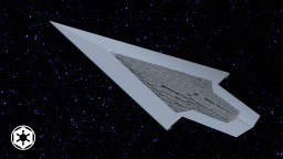 Super Star Destroyer Executor (2000 blocks long) Minecraft
