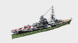 Italian Heavy Cruiser Gorizia 1:1 Minecraft Map & Project