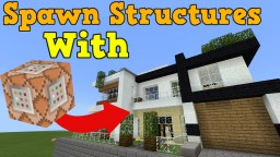 Spawn Structures With Functions Minecraft Map & Project