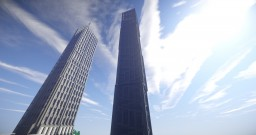 Moder Tower / Skyscraper / Eye Tower Minecraft Map & Project
