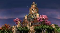 Japanese palace Minecraft