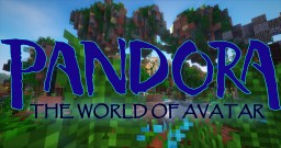 PANDORA: The World of Avatar in Minecraft (1:1 Scale) Minecraft Map & Project
