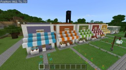 Cute Shops Minecraft Map & Project