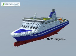 M/F Smyril (Scale 1:1) Minecraft Map & Project