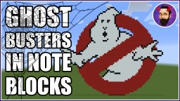 Ray Parker Jr - Ghostbusters | Minecraft Note Block Music Minecraft Map & Project