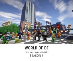 The World of DC (Work in Progress) (75%) Minecraft