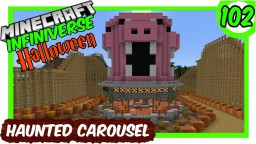 """""""The Haunted Pig Carousel"""" [102] Minecraft Bedrock Infiniverse Minecraft Map & Project"""