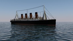 RMS Mauretania - 3:1 Scale Minecraft Map & Project