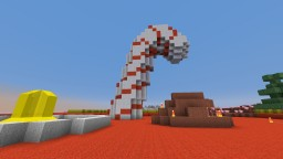 The Candy Cane Sweet Shoppe Minecraft Map & Project