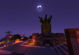 Pineapple statue on a pedestal Minecraft Map & Project