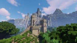 När'Garäth - A Medieval Fantasy Fortress Minecraft Map & Project