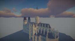 Gothic Cathedrale by zRookey | Notre Dame de Bayeux | Original by zRookey Minecraft