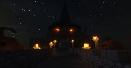 Spooky Pumpking Temple Minecraft Map & Project
