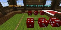 SimpleDice: A vanilla datapack plugin Minecraft Mod