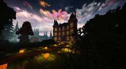 Château de Fougeret/Castle of Fougeret : Halloween 2018 Minecraft