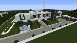 Modern House (no Interior) Minecraft Map & Project