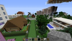 B4zuM - City - Creative building & exploring. Lots more stuff on it. Minecraft Map & Project