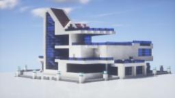 Modern Quartz Villa Minecraft Map & Project