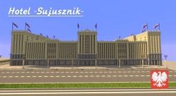 "Hotel ""Sojusznik"" - - Polish Socialist Realism 1950 - - Minecraft Map & Project"