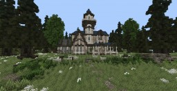 ☛ Witch House Minecraft Map & Project