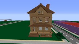 1900-1940 Victorian Style Home Minecraft Map & Project