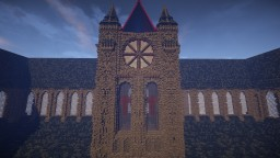 Cathedral for elven city Minecraft Map & Project