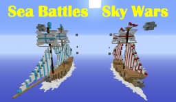 Sea Battles Team Sky Wars Minecraft Map & Project