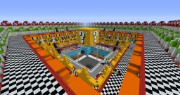 Premade (Not Completed) Nintendo Themed Prison Server Minecraft Map & Project