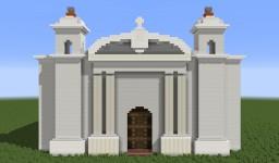 Iglesia de la Asunción de Masahuat, Santa Ana, El Salvador Minecraft Map & Project