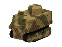 Bob Semple | 20:1 Tank Minecraft Map & Project