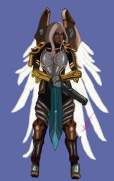 Angel with a shotgun | Inspirinq's contest Minecraft Blog