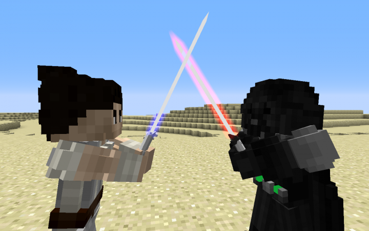 A preview of the custom armor made by Darth Feanor, for the server