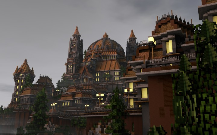 Brightwald - A medieval fantasy town Minecraft Project