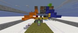 Flush piston floor Minecraft Map & Project