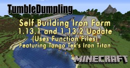 Function Files that build Tango Tek's Iron Titan 1.13.1 and 1.13.2 Minecraft Map & Project