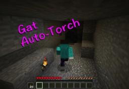 Gat Auto-Torch DataPack Minecraft Data Pack