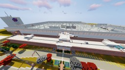 NASA's Rocket Factory - Scale 1:1 replica Minecraft Map & Project