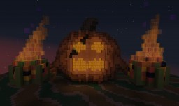 Spooky Pumpkin Minecraft Map & Project