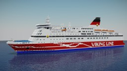 Viking Line M/S Gabriella! Minecraft Map & Project