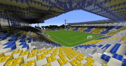 european stadiums part 10 : Na Stínadlech , Teplice Minecraft Map & Project