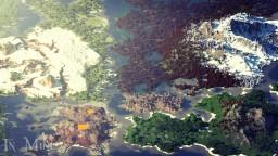 RPG continent - 2500х2500 - WorldPainter Minecraft