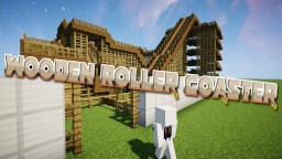 Wooden Roller Coaster! Minecraft