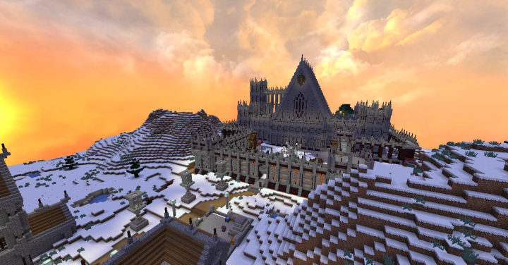 Popular Server Project : Palace build, made several years ago on Unearthedcraft.(originally on the creative build world)