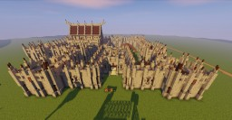 Somewhat historically accurate defend-able castle build Minecraft Map & Project