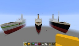 RMS Titanic and sisters Minecraft Map & Project