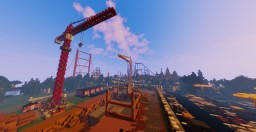 Construction Cranes with DOWNLOAD by PhantasiaWorld Minecraft Map & Project