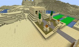 Egyptian temple in AoM style Minecraft Map & Project