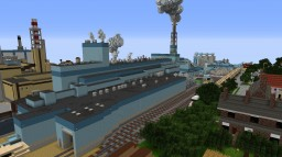 PULP & PAPER MILL Minecraft Map & Project