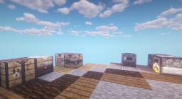 1.14 WorkShop Tables and Furnaces! Minecraft Texture Pack